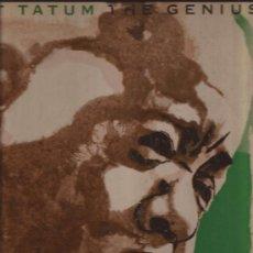 Discos de vinilo: LP-ART TATUM THE GENIUS 8 CLEF 659 1955 JAZZ ORIG. USA. Lote 36327991