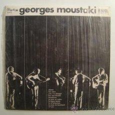Discos de vinil: DISCO VINILO EP DE GEORGES MOUSTAKI DEL MISMO NOMBRE (1973). ED. ESPAÑOLA. REF. 32813.. Lote 36335575