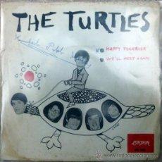 Discos de vinilo: TURTLES. HAPPY TOGETHER/ WE'LL MEET AGAIN. DECCA-LONDON, ESP. 1966 SINGLE. Lote 36338748