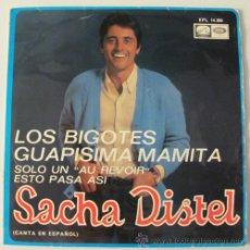 Discos de vinilo: SACHA DISTEL - LOS BOGOTES - CANTA EN ESPAÑOL EP DE 1968. Lote 36345901