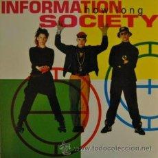 Discos de vinilo: INFORMATION SOCIETY - HOW LONG REMIXES - MAXI SINGLE ESPAÑOL DE 12 PULGADAS . Lote 36346834