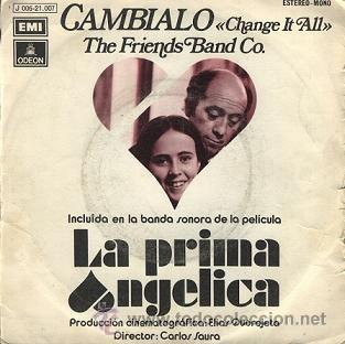 LA PRIMA ANGÉLICA: BANDA SONARA (SINGLE DE 1973) (Música - Discos de Vinilo - EPs - Bandas Sonoras y Actores)