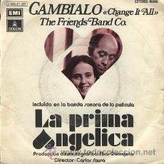 Discos de vinilo: LA PRIMA ANGÉLICA: BANDA SONARA (SINGLE DE 1973). Lote 36356742
