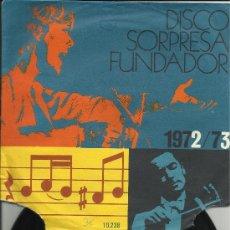 Discos de vinilo: ALEGREMONOS CON LA PANDILLA DISCO FUNDADOR. Lote 36357816