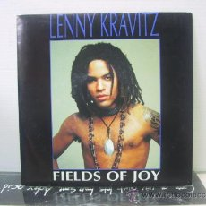 Disques de vinyle: LENNY KRAVITZ - FIELDS OF JOY - PROMO - EDICION ESPAÑOLA - VIRGIN 1991. Lote 36359809