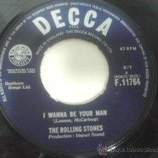Vinyl-Schallplatten - THE ROLLING STONES - I WANNA BE YOUR MAN - SINGLE ORIGINAL 1963 MADE IN ENGLAND RECORDING FIRST 001 - 36360387