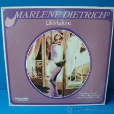 Discos de vinilo: MARLENE DIETRICH - LILI MARLENE. Lote 58391751