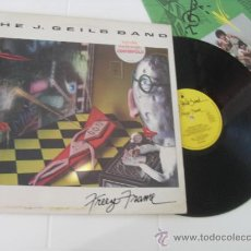 Discos de vinilo: THE J. GEILS BAND LP FREEZE FRAME MADE IN ENGLAND 1981. Lote 36367382