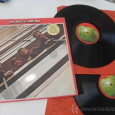 Discos de vinilo: THE BEATLES 1962 - 1966 2 LP. MADE IN ENGLAND. UK. APPLE RECORDS PCSP 717. Lote 36367482