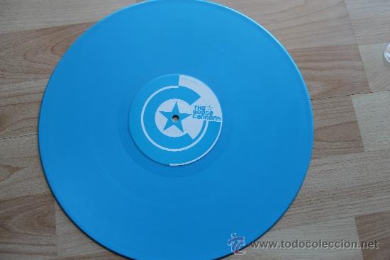 Discos de vinilo: THE LOOSE CANNONS SUPERSTARS - DISCO PROMOCIONAL VINILO AZUL - Foto 4 - 36368167