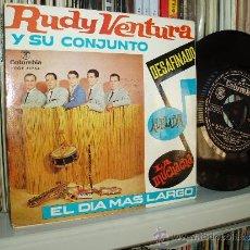 Discos de vinilo: RUDY VENTURA Y SU CONJUNTO EP BOSSA NOVA DESAFINADO + 3 SPAIN CON TRICENTER. Lote 36371155