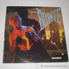 Discos de vinilo: DAVID BOWIE - BAILEMOS (LET´S DANCE) - 1983 (LP).. Lote 36373143