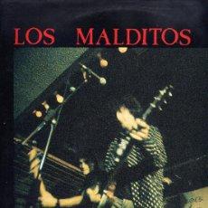Discos de vinilo: LOS MALDITOS. LP 33. FLORES MUERTAS. ROMILAR RCDS. AÑO 1991. Lote 36374399
