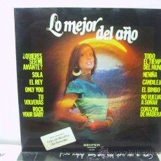 Discos de vinilo: LO MEJOR DEL AÑO - VOCES UNIDAS / CONCHITA BAUTISTA... - BELTER 1975. Lote 36374626