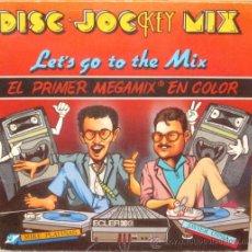 Discos de vinilo: DISC JOCKEY MIX - LET´S GO TO THE MIX KEY - 1986 VINILO AZUL - GAT. Lote 97203028