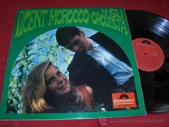 VICENT MOROCCO Y SU ORQUESTA LP 1967 POLYDOR EDICION ESPAÑOLA SPAIN BEATLES VERSIONES (Música - Discos - LP Vinilo - Orquestas)