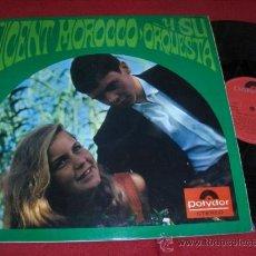 Disques de vinyle: VICENT MOROCCO Y SU ORQUESTA LP 1967 POLYDOR EDICION ESPAÑOLA SPAIN BEATLES VERSIONES. Lote 36477694