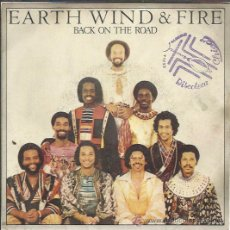 Discos de vinilo: EARTH WIND & FIRE - BACK ON THE ROAD / TAKE IT TO THE SKY - SINGE CBS 1980. Lote 36388582