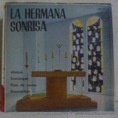 Discos de vinilo: LA HERMANA SONRISA (SOEUR SOURIRE) - ALLELUIA +3 - EP PHILIPS 1962 - SV. Lote 36390313