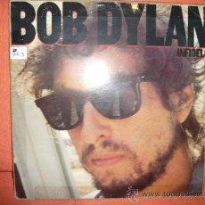 Discos de vinilo: BOB DYLAN- INFIDELS. Lote 36392839