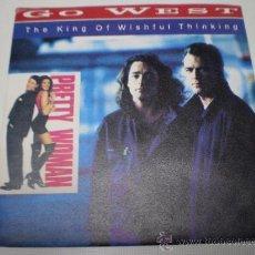 Discos de vinilo: GO WEST-THE KING OF WISHFUL THINKING-SINGLE-AÑO 1990-1539 141.. Lote 36398283