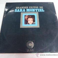 Discos de vinilo: GRANDES EXITOS DE SARA MONTIEL. Lote 36405092