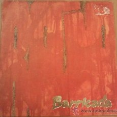 Discos de vinilo: BARRICADA ROJO SINGLE 1988. Lote 36406068