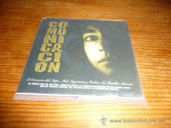 DISCO EP COMUNICACION RECOPILACION. EL CORAZON DEL SAPO Y MAS. PUNK ROCK OI HARD CORE SKA (Música - Discos de Vinilo - EPs - Punk - Hard Core)