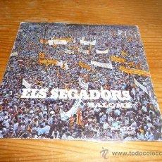 Discos de vinilo: DISCO SINGLE ELS SEGADORS, HIMNE DE CATALUNYA. Lote 36409334
