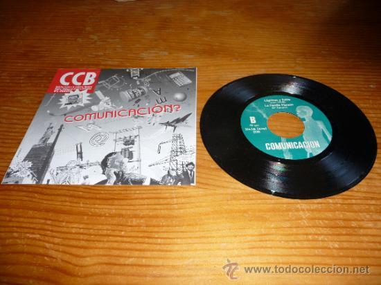 Discos de vinilo: Disco EP Comunicacion recopilacion. El corazon del sapo y mas. Punk rock oi Hard core ska - Foto 2 - 126183887