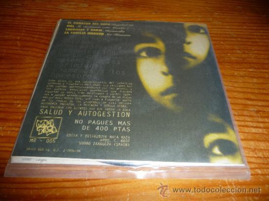 Discos de vinilo: Disco EP Comunicacion recopilacion. El corazon del sapo y mas. Punk rock oi Hard core ska - Foto 3 - 126183887