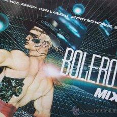 Disques de vinyle: BOLERO MIX(FANCY Y OTROS) DEL 86. Lote 36408435