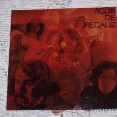 Discos de vinilo: AGUA DE REGALIZ (PAN Y REGALIZ) 7´SG WAITING IN THE MUNSTER...+ 1(1970) COMO NUEVO. Lote 102592724