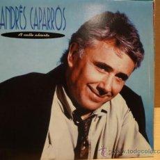 Discos de vinilo: ANDRÉS CAPARRÓS. A CALLE ABIERTA. SINGLE PROMO / EMI - 1991. CALIDAD LUJO. ****/****. Lote 36418782
