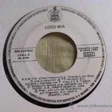 """Disques de vinyle: 7"""" SINGLE-LOCO MIA-R S M-PROMO. Lote 36420099"""