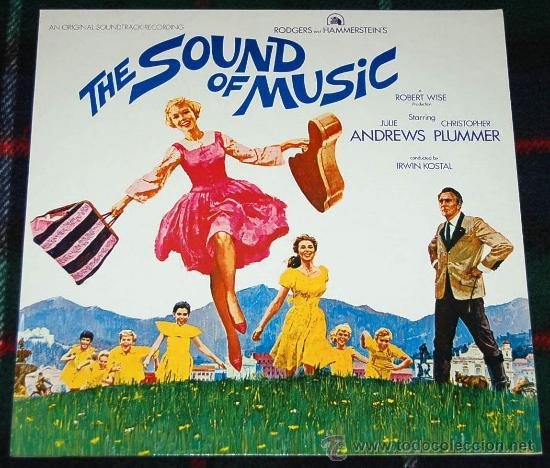 BANDA SONORA ORIGINAL - THE SOUND OF MUSIC - SONRISAS Y LAGRIMAS - JULIE ANDREWS - NUEVO (Música - Discos - LP Vinilo - Bandas Sonoras y Música de Actores )