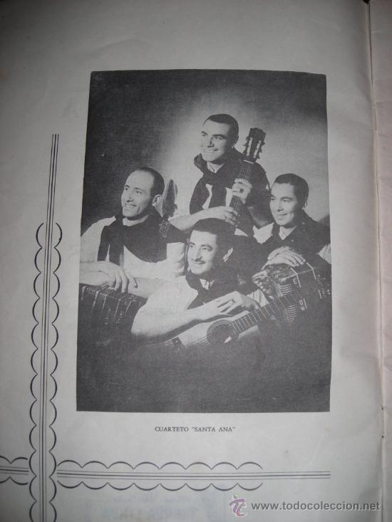 Discos de vinilo: SANTA ANA - ALBUM DE CHAMAMES - 20 COMPOSICIONES FAMOSAS - ARGENTINA - 1951 - RARO! - Foto 3 - 36421187