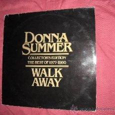 Discos de vinilo: DONNA SUMMER LP COLLECTORS EDITION THE BEST OF 1977-1980 WALK AWAY. Lote 36425858