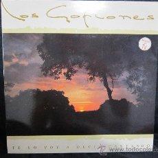 Discos de vinilo: LOS GOFIONES - TE LO VOY A DECIR CANTANDO - LP - FOLKLORE CANARIAS [8,5 / 9,5]. Lote 205745616