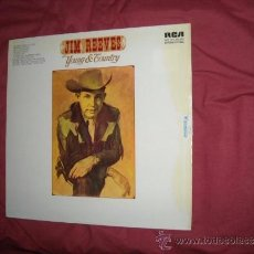 Discos de vinilo: JIM REEVES LP YOUNG AND COUNTRY RCA GERMANY VER FOTO ADICIONAL. Lote 36428824