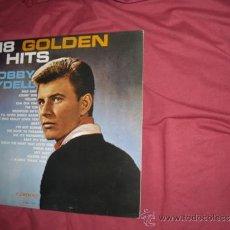 Discos de vinilo: BOBBY RYDELL LP 18 GOLDEN HITS 1963 CAMEO C 2001 VER FOTO ADICIONAL. Lote 36429491