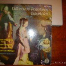 Discos de vinilo: VILLANCICOS POPULARES ESPANOLES. Lote 36442068