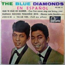 Discos de vinilo: BLUE DIAMONDS JERICO/ YA LO VES/ QUE TE DEJE DE QUERER/ BUENAS NOCHES PEQUEÑO. FONTANA, ESP. 1964. Lote 36444952
