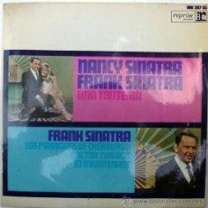 Discos de vinilo: FRANK & NANCY SINATRA. UNA TONTERÍA/ LOS PARAGUAS DE CHERBURGO/ DOCTOR ZHYVAGO/ ET MAINTENANT. 1967. Lote 36446431