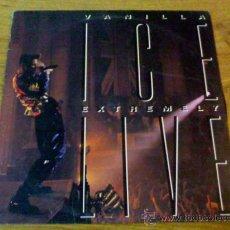 Discos de vinilo: VANILLA ICE. EXTREMELY LIVE. Lote 36456499
