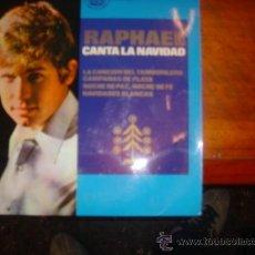 Discos de vinilo: RAPHAEL CANTA A LA NAVIDAD /CANCIONES DEL TAMBORILERO/CAMPANAS DE PLATA/NOCHE DE PAZ/NAVIDADES BLANC. Lote 36458721