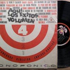 Discos de vinilo: LOS TROTAMUNDOS*AQUI LOS EXITOS VOL 4*LP ZEIDA*EDITADO EN COLOMBIA*. Lote 36462266