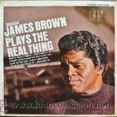 Discos de vinilo: JAMES BROWN / PLAYS THE REAL THING 1967 !! PEE WEE ELLIS, RARA EDIT. KOREA !!. Lote 36464491
