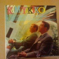 Discos de vinilo: KIM Y KIKO..!!! DIÁLOGOS Y CANCIONES !EP-7¨-1961..!! EL FICHAJE DEL FENÓMENO + OTROS TEMAS BUSCADOS. Lote 36465343