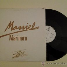 Discos de vinilo: MASSIEL - MARINERO - PROMOCIONAL - RAREZA. Lote 36465634